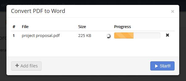 PDF to Word Conversion in PDF Burger