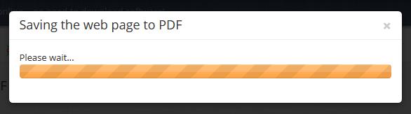 Save Webpage as PDF in PDF Burger