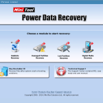 Boot Disk Main GUI