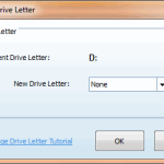 Change Drive Letter - MiniTool Partition Wizard Pro 8