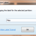 Change Partition Lebel - MiniTool Partition Wizard Pro 8