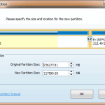 Split Partition - MiniTool Partition Wizard Pro 8