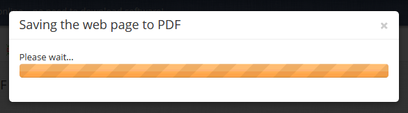 Save Webpage as PDF in PDF Burger