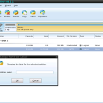 Change Partition Lebel