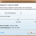 Extend Partition - MiniTool Partition Wizard Pro 8